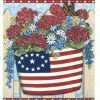 "#739pc – ""Patriotic Bucket"" Postcard"