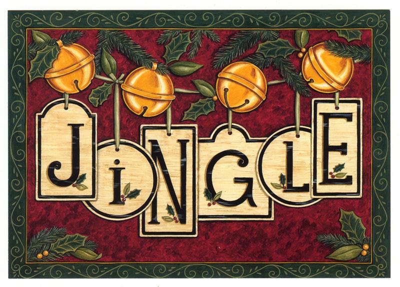 """#800pc – """"Jingle"""" Postcard"""