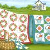 "#SN-114 ""Clothesline Quilts"" Notecards"